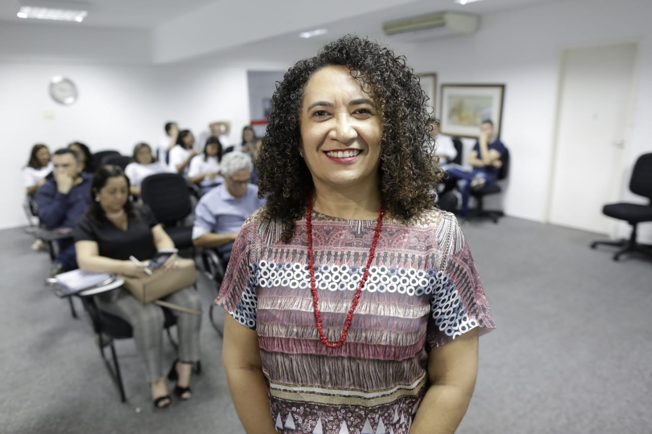 Coordenadora da CODED/CED conhece a UAPI e o modelo de ensino superior EAD adotado no Piauí