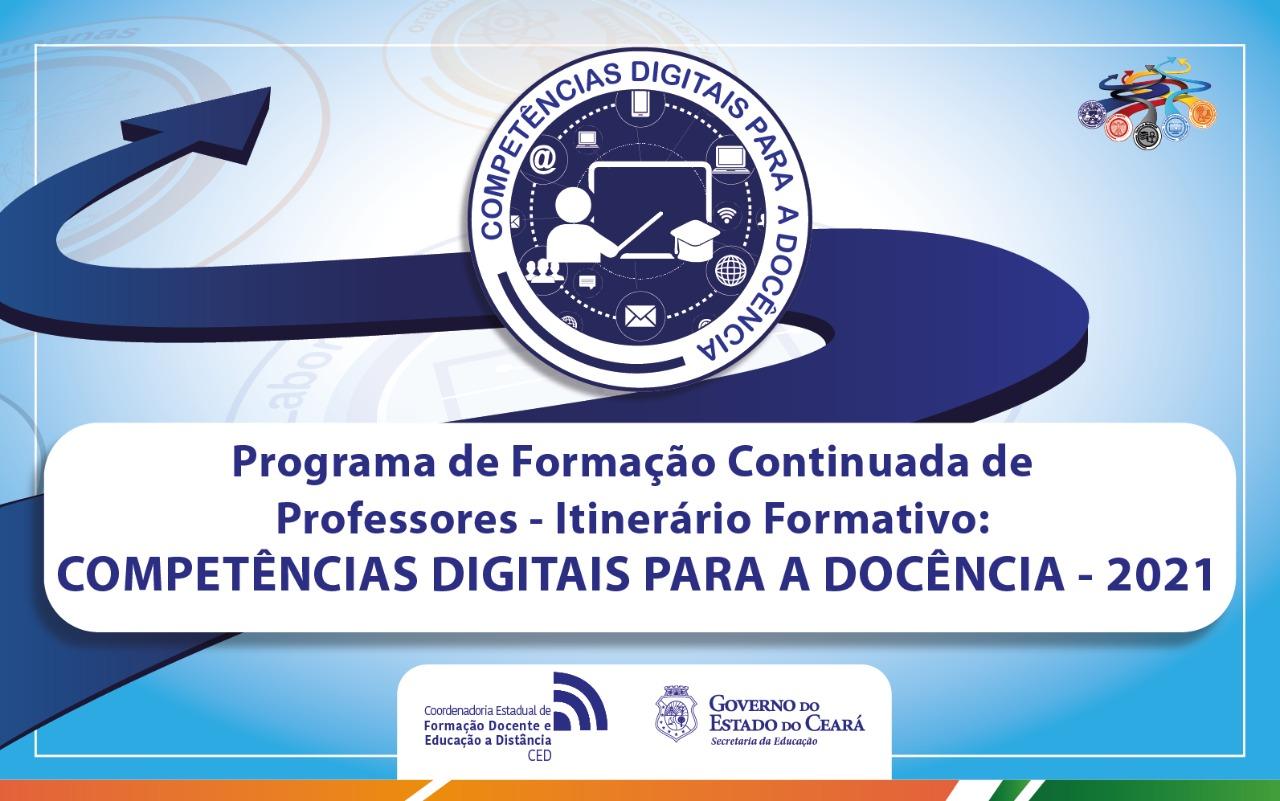 Itinerário Formativo: Competências Digitais para Docência